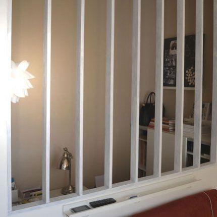 notre espace bureau cloisons maisons insolites et. Black Bedroom Furniture Sets. Home Design Ideas