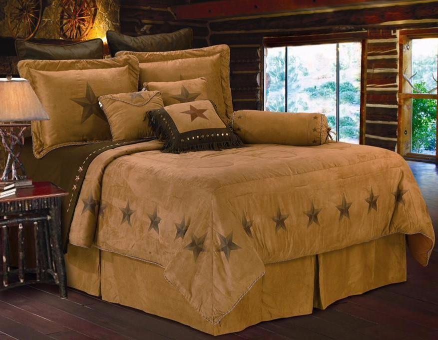Best 7 Pc Super Queen Luxury Star Western Comforter Set 400 x 300