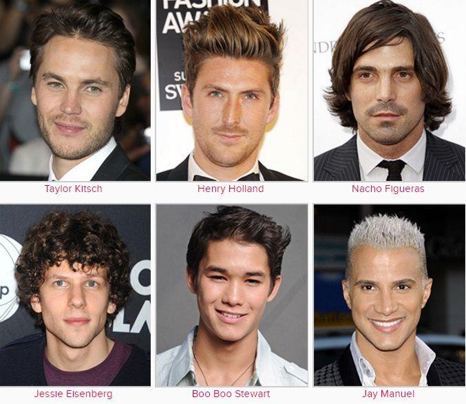 Erkek Saç Modelleri Ünlü Yıldızların En Son Saç Modelleri