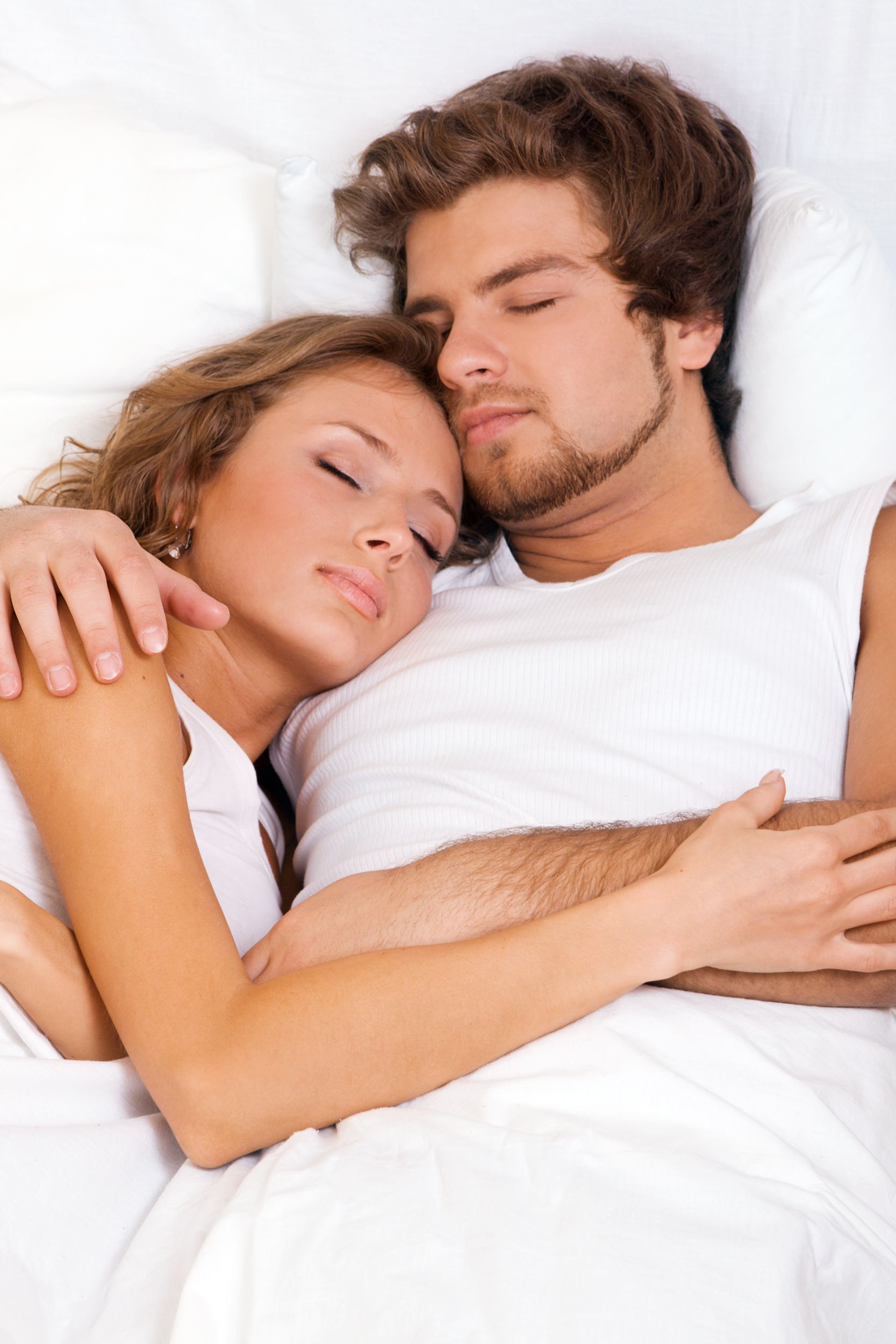 The sleeping position determines your relationship ...