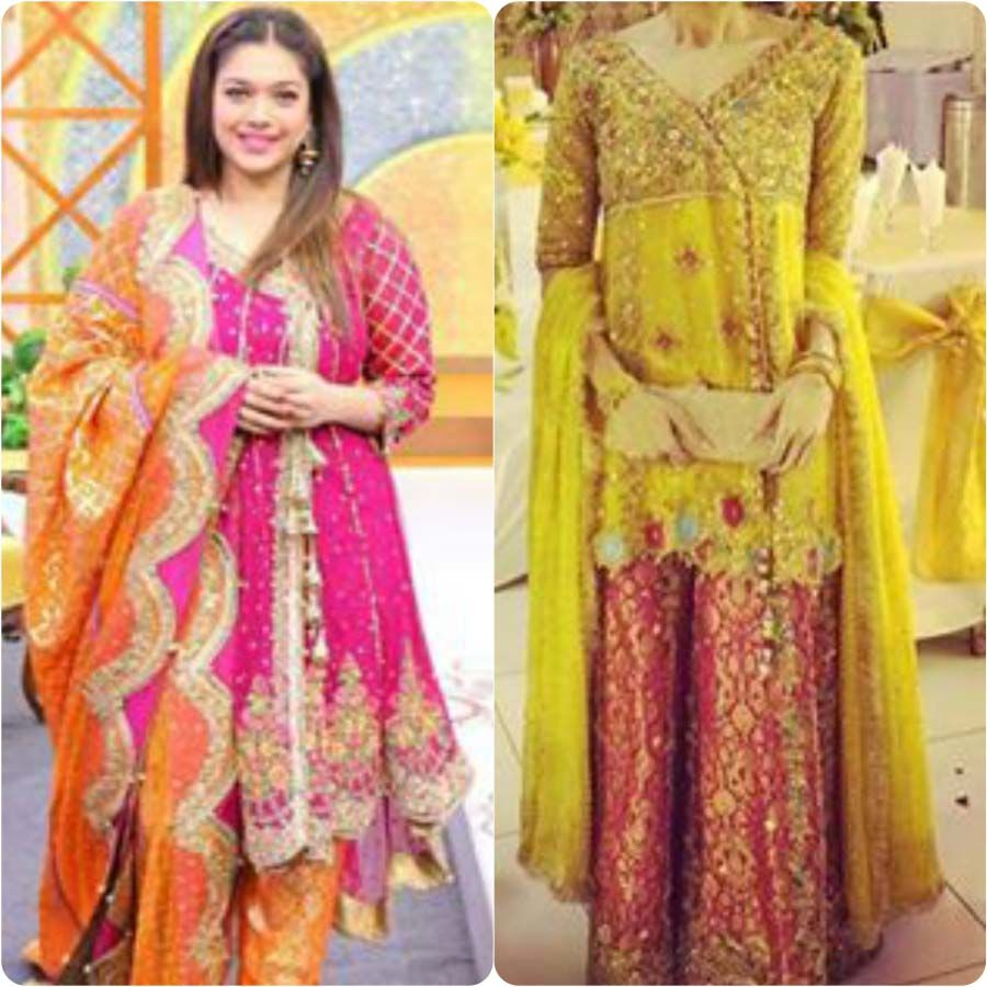 Bridal Mehndi Collection : Latest bridal mehndi dresses collection stylo