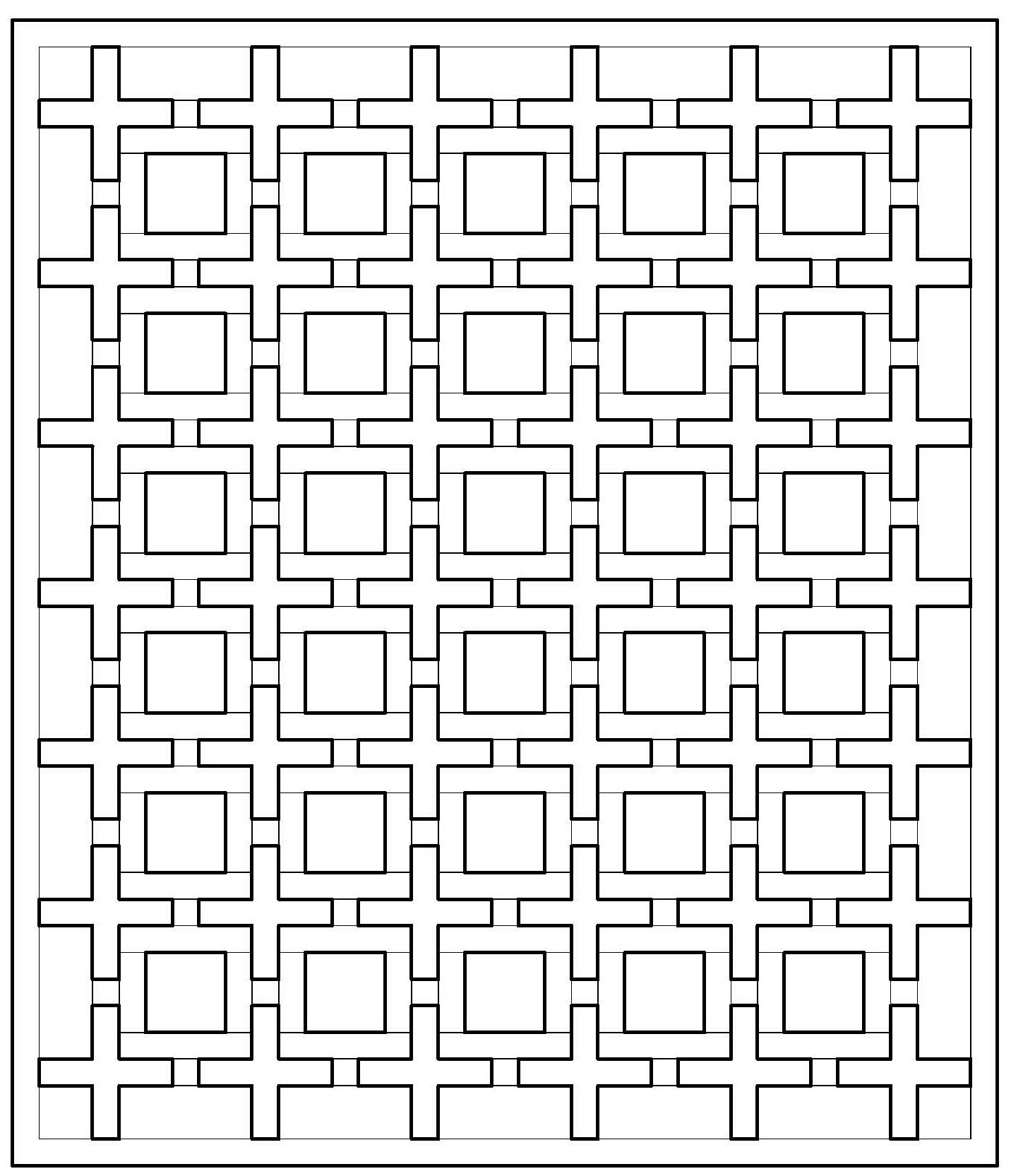 design patterns coloring pages make your own coloring page by - Quilt Block Coloring Pages
