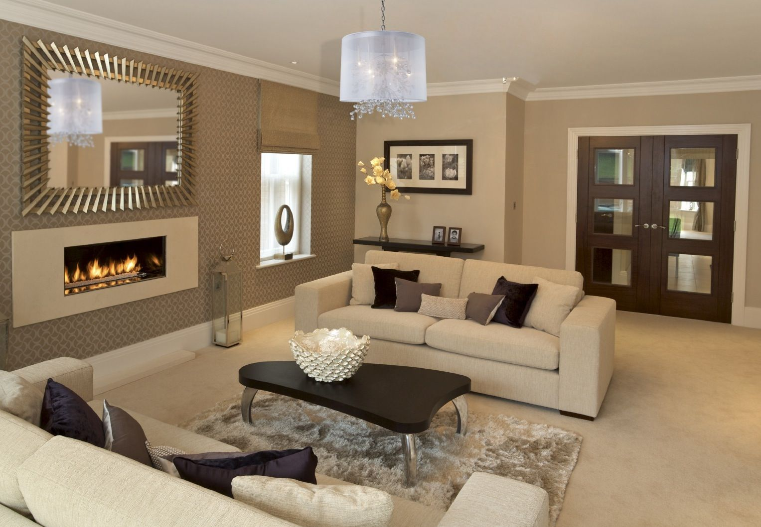 Room Decorating Ideas Bellacor Brown Living Room Decor Beige Living Rooms Living Room Wall Color