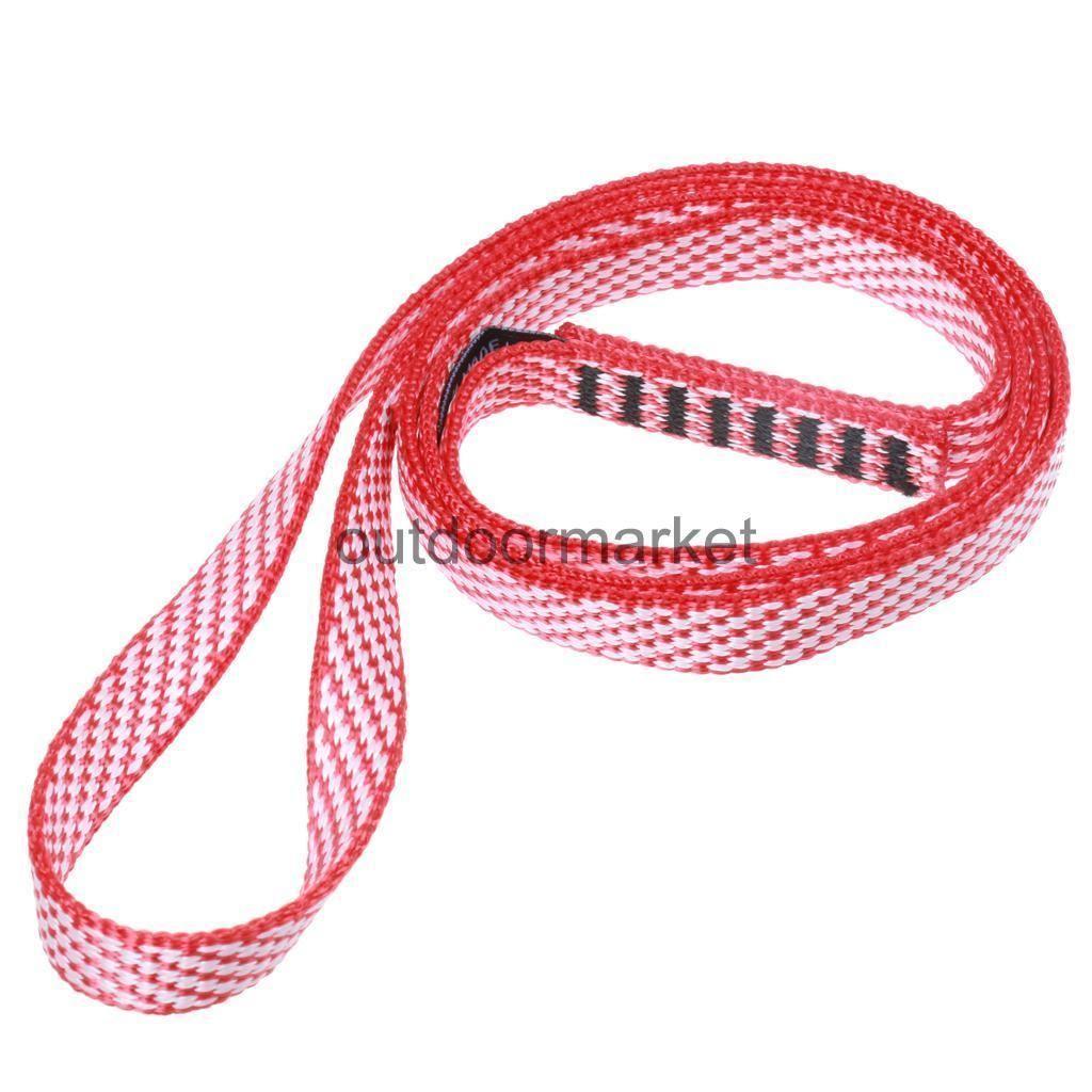 Kn mm nylon sling anchor system for rock climbing swing yoga