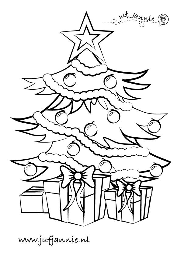 Kerst Kleurplaat Christmas Pinterest Christmas