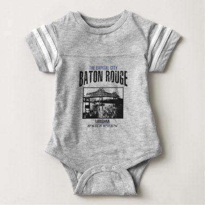 Baton Rouge Baby Bodysuit Vintage Gifts Retro Ideas Cyo Vintage