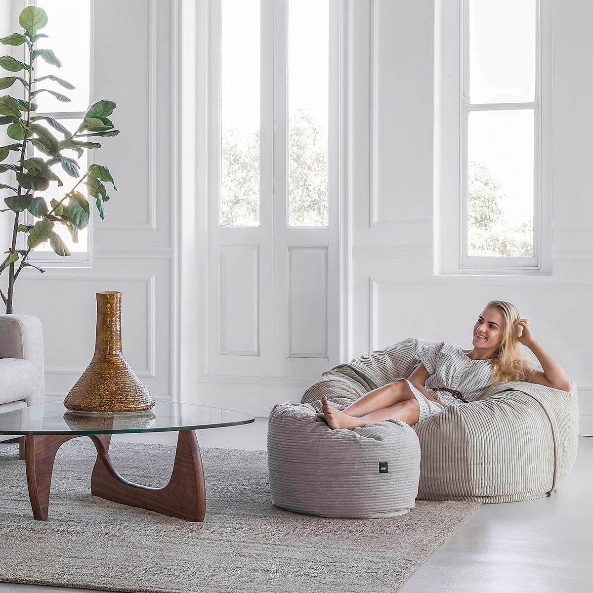 Sitzsack CORD Sitzen, Wohnzimmer gemütlich und