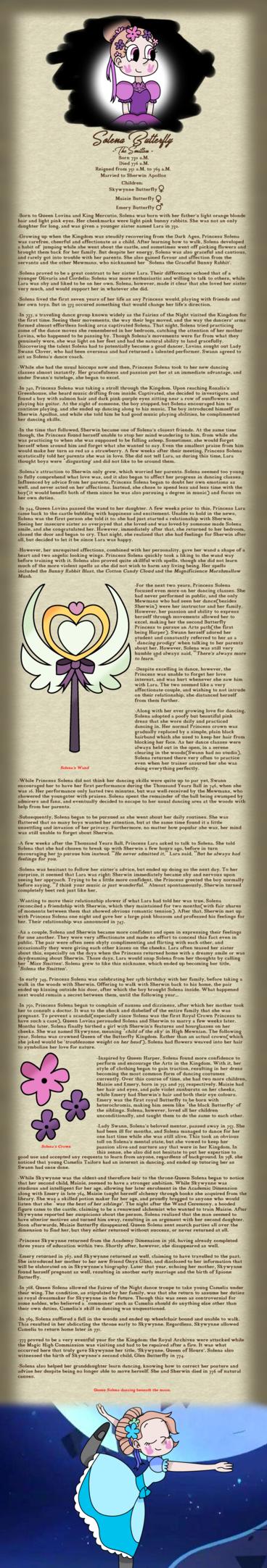 Biography of Solena, the Smitten by XxFrostflare | Svtfoe