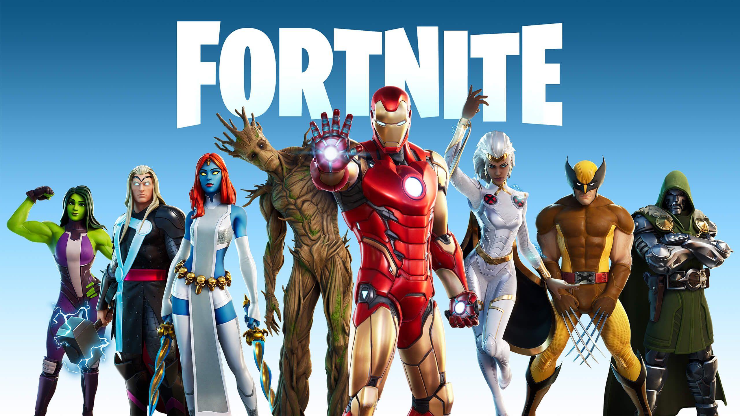 Fortnite Fortnite Season 4 In 2020 Fortnite Marvel Battle Royale Game