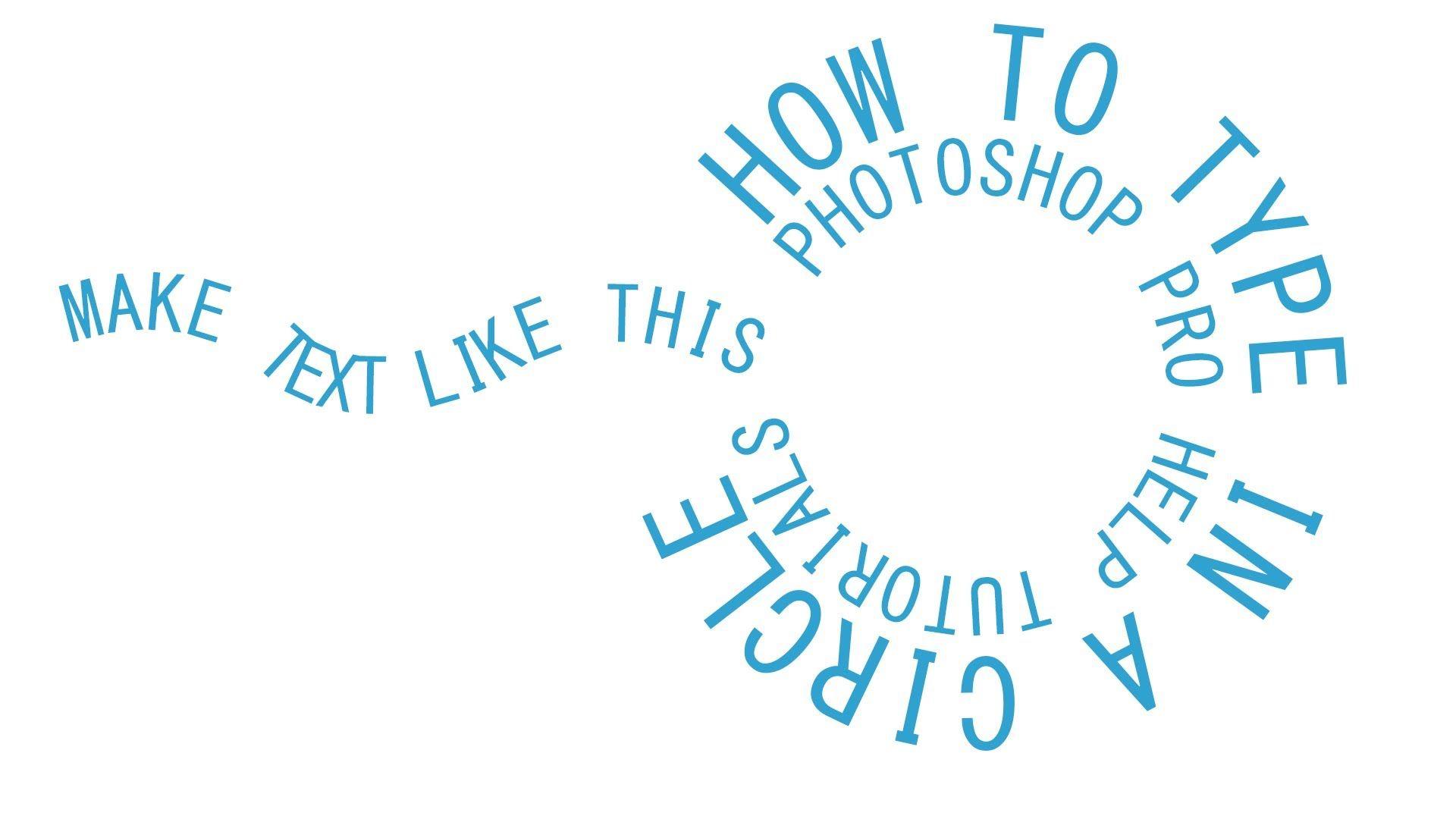 CS6 Circular Text Around A Path Photo poster