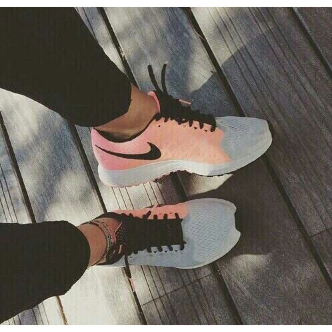 peach/grey/black | Me too shoes