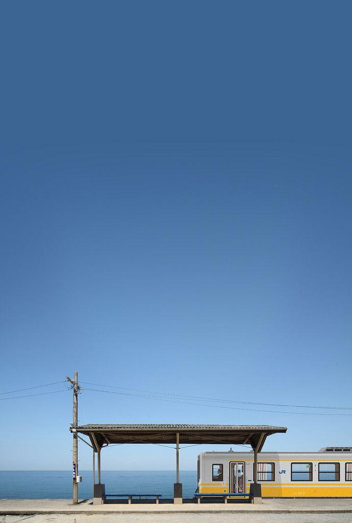 下灘駅 Shimonada Sta.