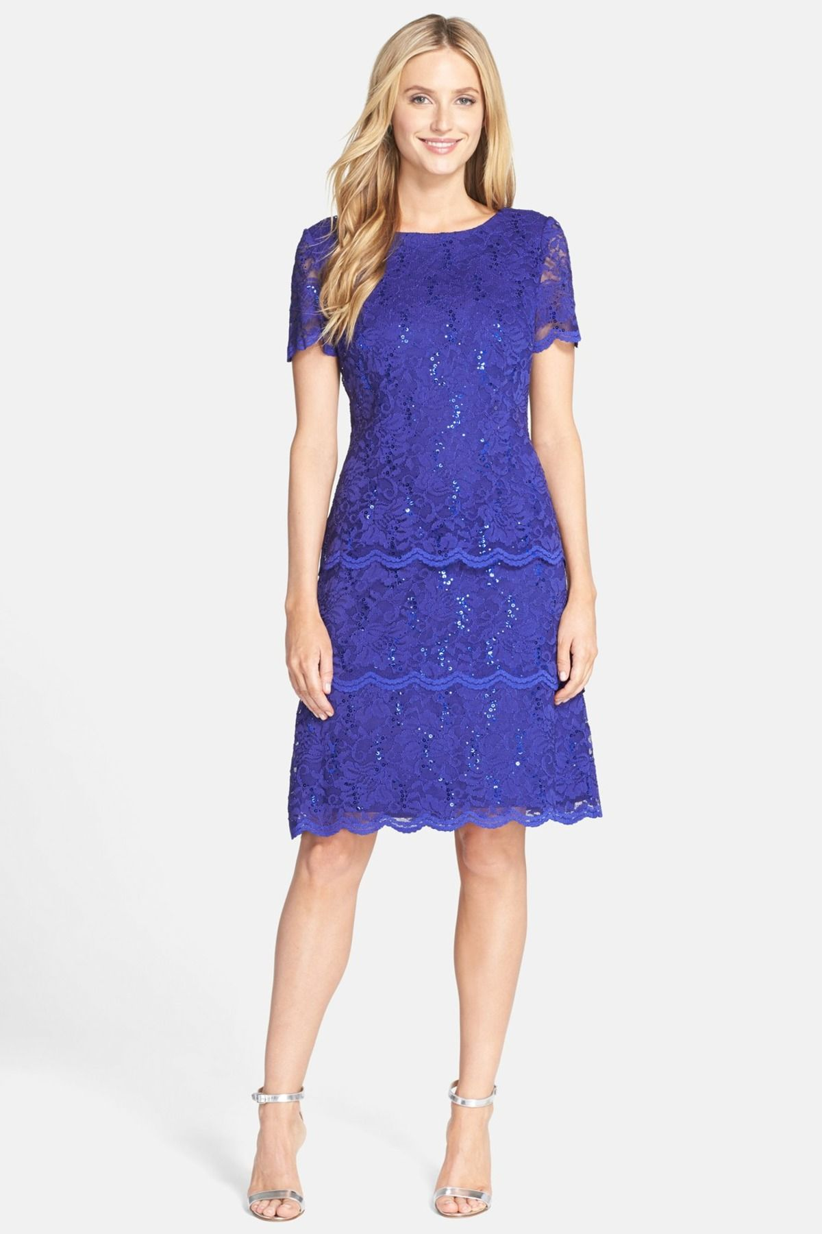 6e5cb67e3df8 Alex Evenings | Sequin Lace Shift Dress | Nordstrom Rack Sponsored by  Nordstrom Rack.