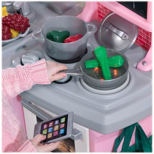 Step2 Great Gourmet Kitchen Play Set Light Pink Cooking Toys Cool Things To Buy Play Kitchen Sets