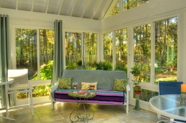 conservatory glazed veranda sitting area Winter Garden