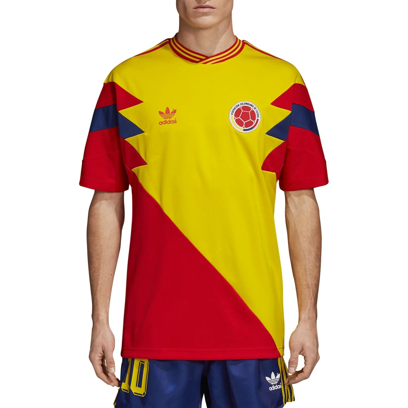 2e28e8c143a COLOMBIA MASHUP T-Shirt PURE YELLOW/SCARLET | kleding | Kleding
