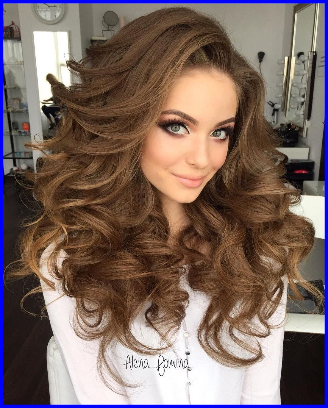 image result for hairstyles for frizzy curly long hair