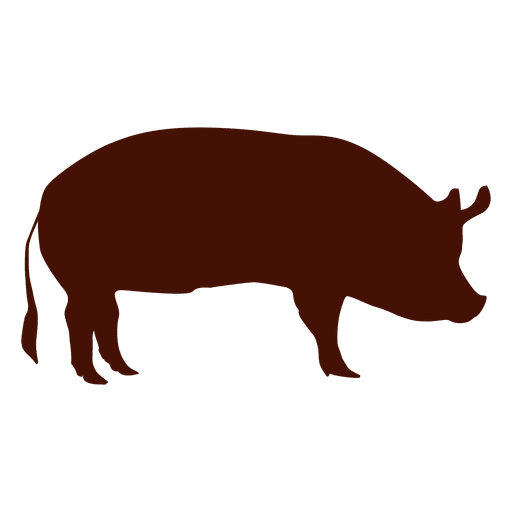 Silhouette Pig Ad Paid Affiliate Pig Silhouette Pig Png Pig Art Transparent Background