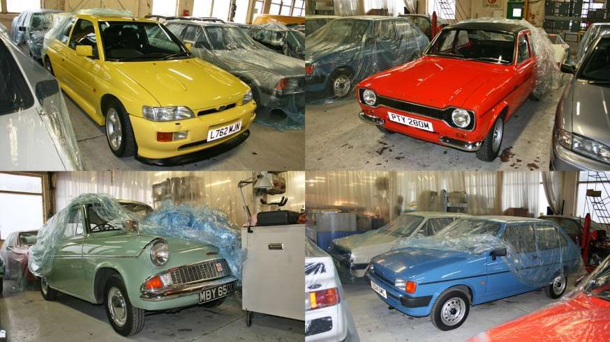 Tucked Away On The Outskirts Of Ford S Sprawling Dagenham Factory Is A Small Slightly Ramshackle Wa Mot Car Collection Commercial Vehicle Used Cars Movie