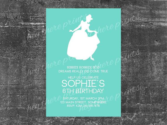 Cinderella birthday invitation by heythereprints on etsy 1200 cinderella birthday invitation by heythereprints on etsy 1200 filmwisefo