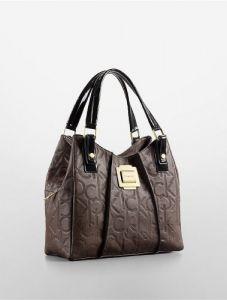 Calvin Klein Cal 1898 Shoulder Bag For Women Espresso Leather للبيع في المملكة العربية السعودية جدة الرياض افضل Leather Hobo Bag Handbag Stylish Handbags