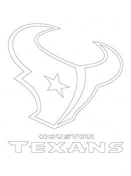 Houston Texans Logo Coloring Page Texans Logo Football Quilt