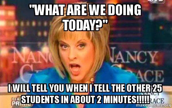 Participation Teacher Memes Funny Teaching Humor Teaching Memes