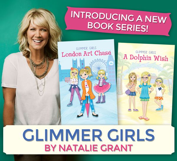 Check out the books from @NatalieGrant & #FaithGirlz - plus enter 2 win the #Giveaway ! #FlyBy #GlimmerGirls