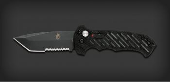 Gerber 06 G-10 Military Issue Black Tactical Tanto Automatic