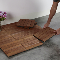 12 X 12 Patio Pavers Interlocking Wood Flooring Tiles Indoor Outdoor 11 Pcs Walmart Com In 2020 Patio Tiles Patio Flooring Outdoor Flooring