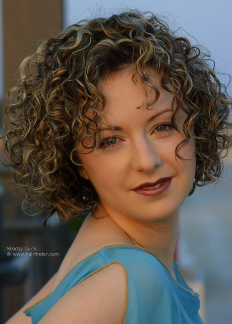 Short Curly Permed Hairstyles Short Curly Hair Curly Hair