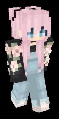 Pink Hair Minecraft Skins Namemc Minecraft Madchen Skins Minecraft Skins Tierbilder