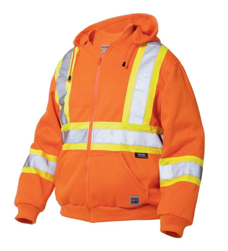 Size: 2X-Large GO//RT Portwest RT42ORRXXL Series RT42 Hi-Vis Poly-Cotton Coverall Orange Regular