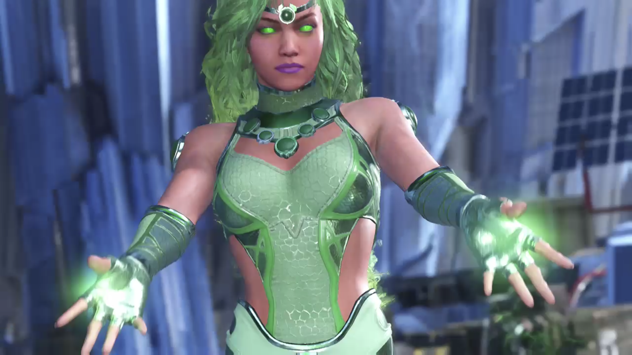 Injustice 2 Starfire Super Heroe Heroe