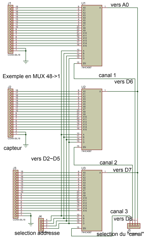 Arduino Dmultiplexage Multiplexage Par 74hc4067 Working Electronics Forum Circuits Projects And Microcontrollers Toujours Dans Le Cadre Dune Demande Sur Il Mavait T Demand Un Exemple De Code Pour Faire Du Mux Demux Via Plusieurs