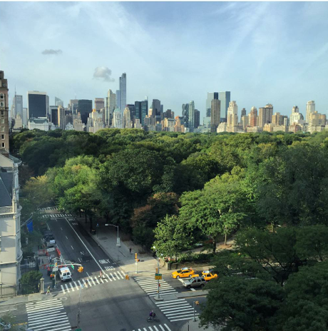 Waking up to this. I love NYC. | #YYView