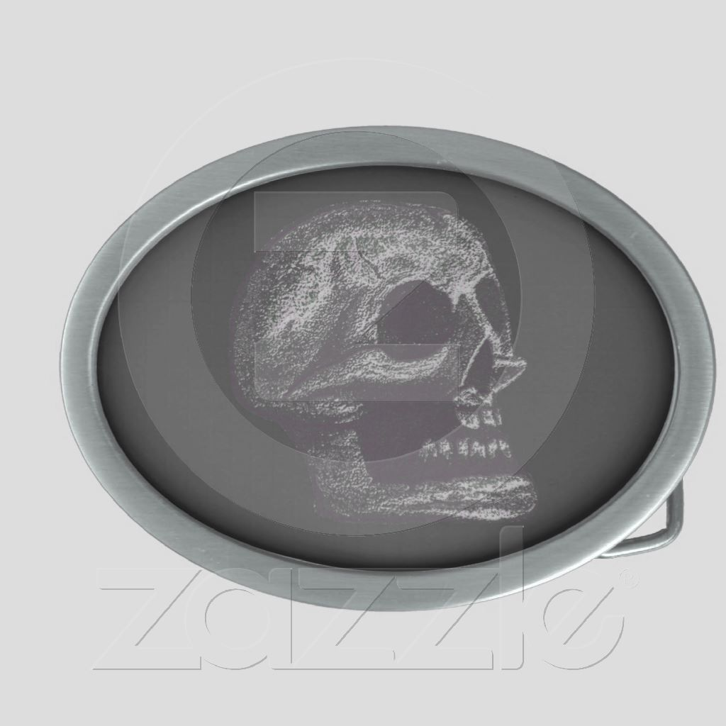 the Skull! Black & White from Zazzle.com