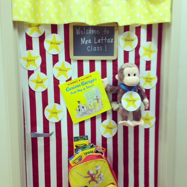 Curious George Classroom Decorations