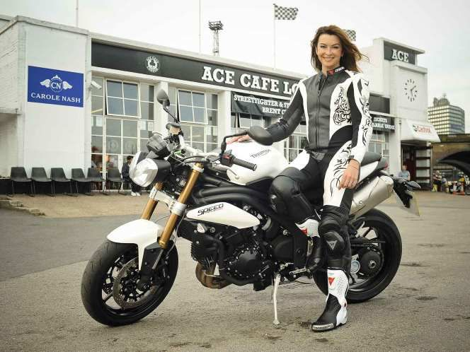 Here's TV presenter Suzi Perry hanging out at London's Ace ...