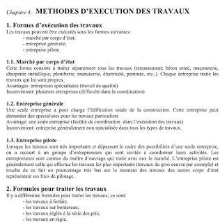 Methodologie De Planning D Execution Des Travaux Cours Genie Civil Www Joga C La Cours Exercices Corriges E Modele De Planning Execution Cours Genie Civil