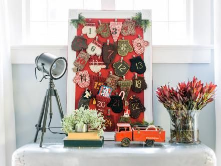 77 DIY Christmas Decorating Ideas Kids count and Advent calendars