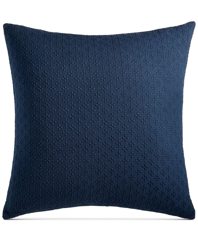 Charter Club Diamond Dot Cotton 300 Thread Count 18 Decorative Pillows Pillows Cotton