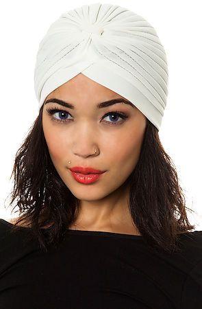 acbc5640244 Fashion great gatsby turban hat headwrap in white off craftasy jpg 295x450 Gatsby  turban