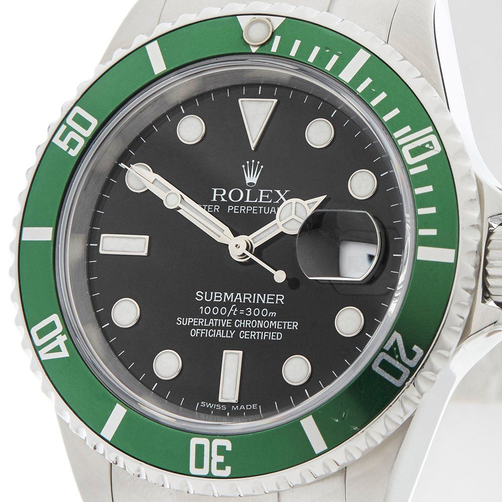Pre Owned Rolex Watch Submariner 16610lv Xupes