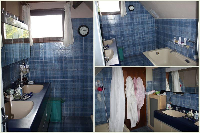 le carrelage a t repeint avec une peinture salle de bain acrylique aprs avoir reu - Peindre Carrelage Salle De Bain Avant Apres