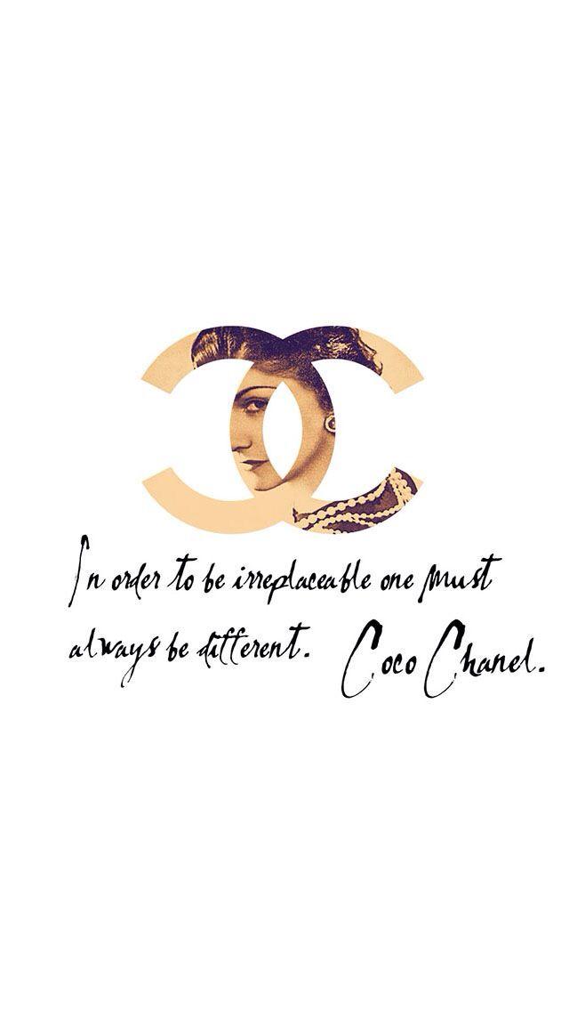 Coco, Chanel, quote
