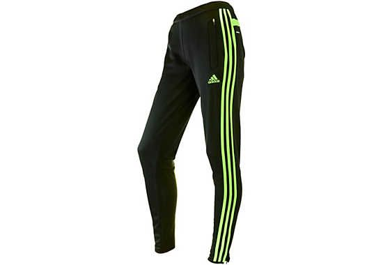 Adidas tiro 15 training pant black white black + FREE
