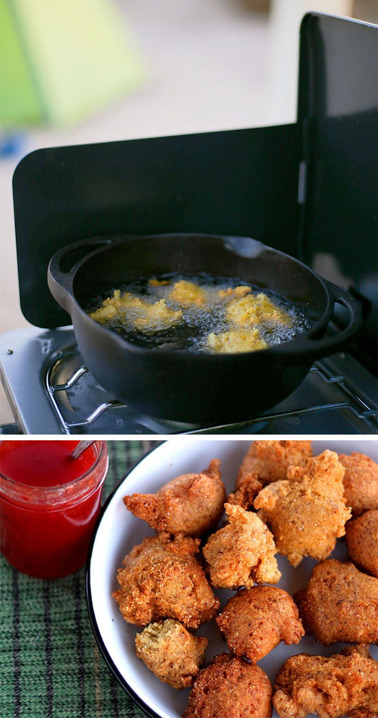 Hush Puppies Recipe Food, Best camping meals, Camping