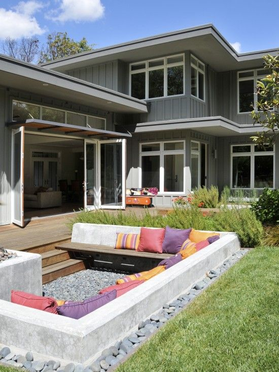 Contemporary Exterior Design, Pictures, Remodel, Decor and Ideas