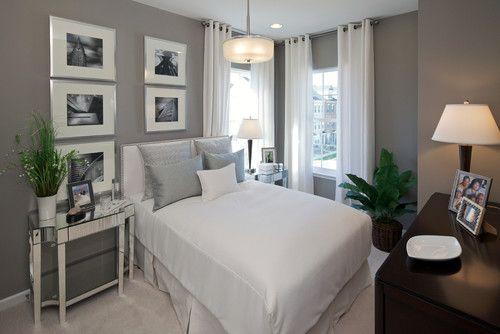 Houzz Small Bedrooms Small Bedroom Interior Grey Bedroom